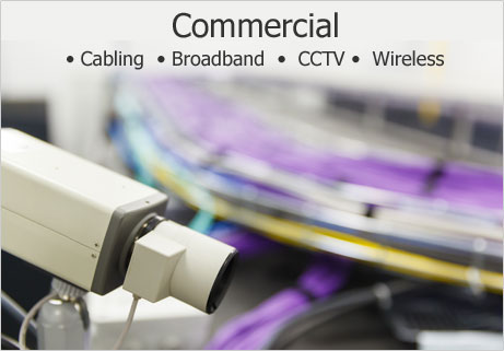 Commerical Cabling Broadband - Colchester